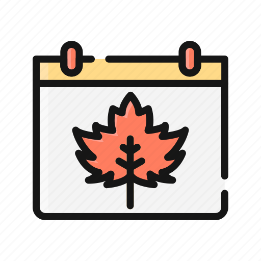 America, dinner, holiday, leaf, maple, thanksgiving icon - Download on Iconfinder