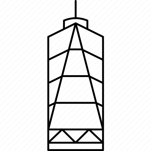 building, business, city, freedom tower, new york city, nyc, office, real estate, skyscraper icon