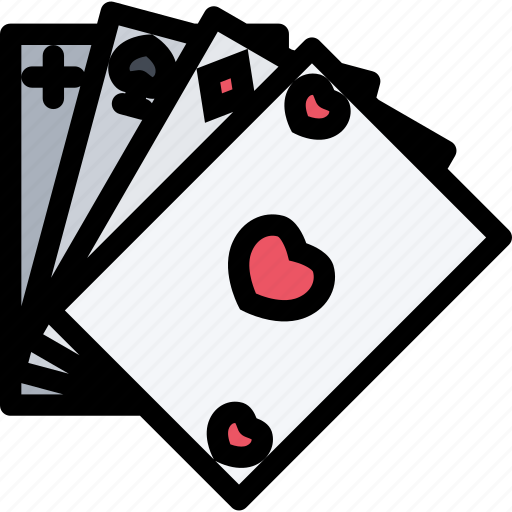 Cards, game, gaming, play, poker icon - Download on Iconfinder