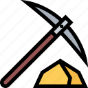 pick, pick tool, pickaxe, pickaxe tool, tool icon