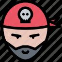 avatar, captain, man, pirate, sailor