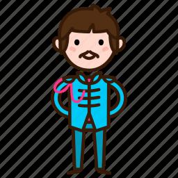 band, beatles, caricature, paul, paul mccartney, the, the beatles icon