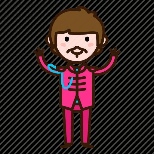 beatles, caricature, music, ringo, ringo starr, the, the beatles icon