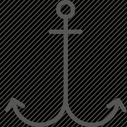 anchor, connection, internet, link, marine, optimization, seo icon