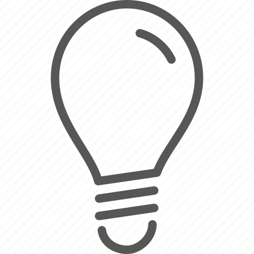 bulb, concept, electric, electricity, idea, lamp, light icon