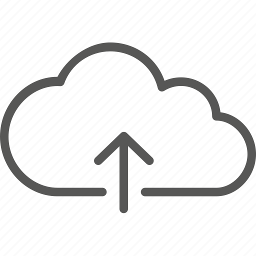 arrow, cloud, data, file, guardar, save, storage, upload icon