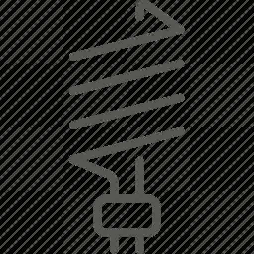 bulb, eco, energy, green, lamp, light, lightning icon