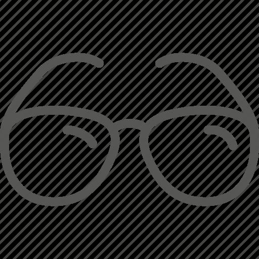 expert, eyeglasses, glasses, knowledge, senior, spectacles, vision icon