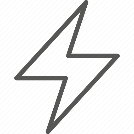 charge, danger, electricity, flash, lighting, lightning, shock icon