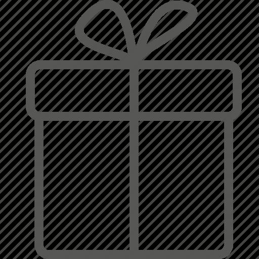 Box, surprise, gift, present, christmas icon