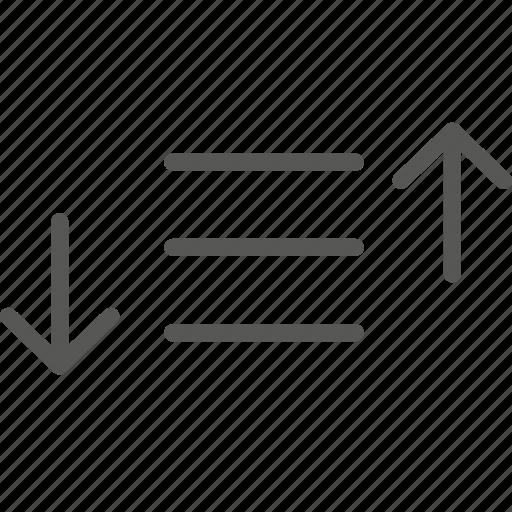 Filter, list, order, sequence, sort, sorting icon - Download on Iconfinder