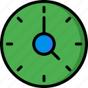 clock, color, controls, essentials, speed, ultra, user icon