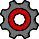 cog, color, controls, essentials, settings, ultra, user icon