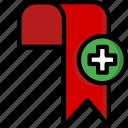 add, bookmark, color, controls, essentials, ultra, user icon