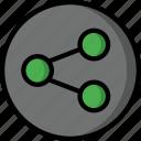 color, controls, essentials, share, ultra, user icon