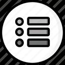 color, controls, essentials, more, ultra, user icon