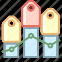 chart, graph, market, price icon