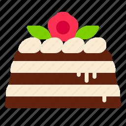 cake, chocolate, cream, dessert icon