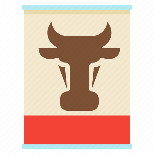 beef, canned-meat, conservation, meat icon