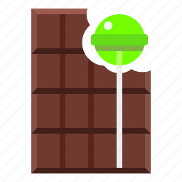 candy, chocolate, confectionery, lollipop icon
