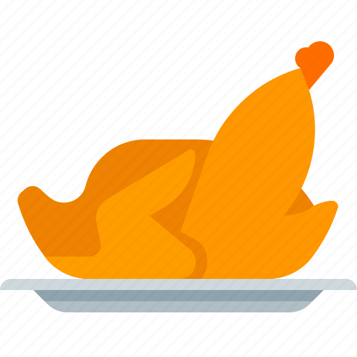 chicken, cookery, cooking, food icon