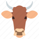 animal, beef, cow, meat icon