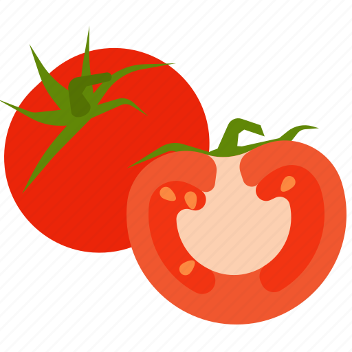 fresh, tomato, vegetables, vegetarian icon