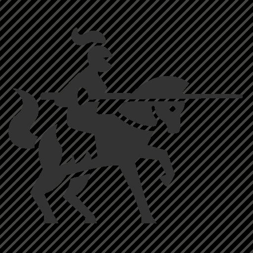 battle, contest, knight, maneuver, medieval, warhorse, warrior icon