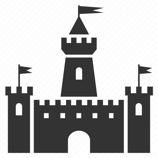 bastion, castle, citadel, fortress, medieval, palace, tower icon
