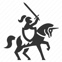 battle, chevalier, knight, medieval, war, warhorse, warrior icon