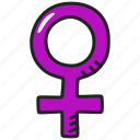 female, sex, venus icon