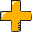 aid, cross, health, help, hospital, medical icon