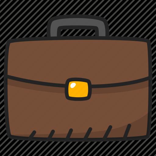 briefcase, business, case, diplomat, portfolio, suitcase icon