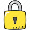 encryption, lock, password, privacy, security, unlock icon