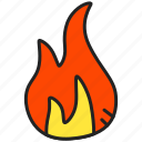 burn, energy, fire, flame, flammable, hot icon