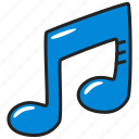 audio, music, note, play, song, sound icon