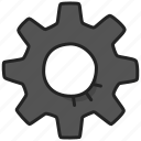 cog, cogwheel, edit, gear, settings, wheel icon