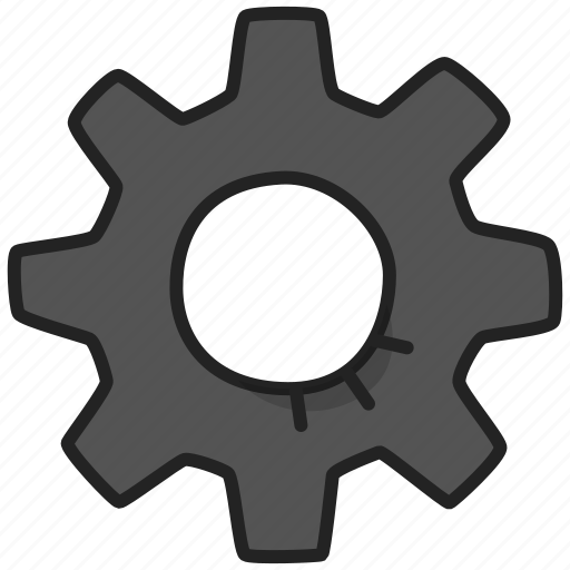 cog, cogwheel, gear icon