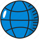 earth, global, globe, internet, planet, world icon