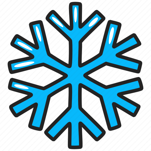 cold, flake, ice, snow, snowflake, winter icon