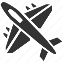 aircraft, airplane, army, fighters, military, vehicle, weapon icon