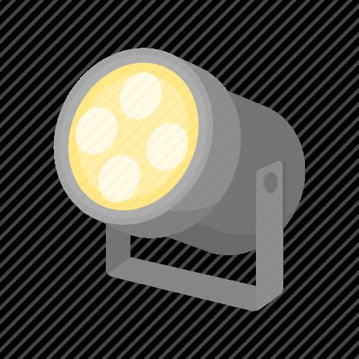accessories, art, attribute, lantern, lighting, searchlight, theater icon