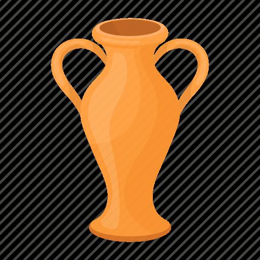 accessories, amphora, art, attribute, greek, theater, vessel icon