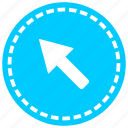 arrow, direction, download, navigation, road, sense, shafts icon