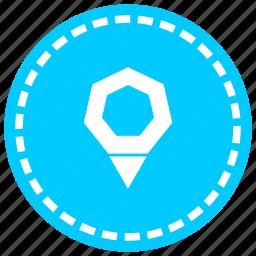 designation, location, map, marker, navigation, orientation, point icon