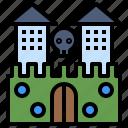 castle, entertainment, fun, ghost, halloween, spooky