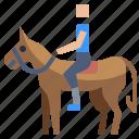 animal, horse, people, ride, sport