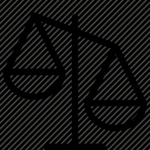 Attorney, case, court, judge, justice, law, scale icon ...