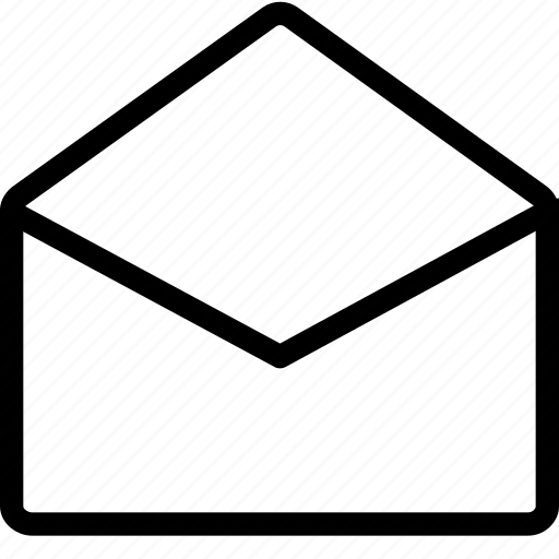 email, envelope, mail, message, open, post icon