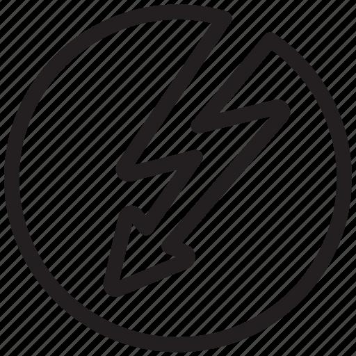 connector, electricity, lightning, power, thunder, thunderbolt icon